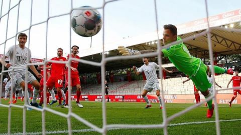 Bayern tundukkan Union 2-0 lepas Bundesliga disambung