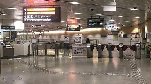 Stesen MRT Bishan dibersih lagi ekoran staf positif Covid-19