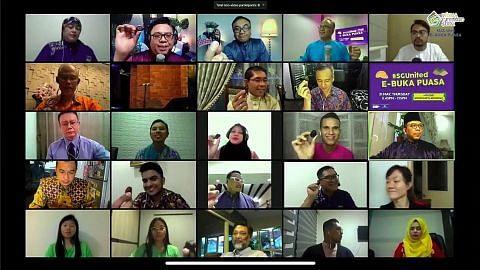 DPM Heng sertai pemimpin masyarakat iftar di talian WGS