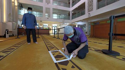Masjid siap dibuka
