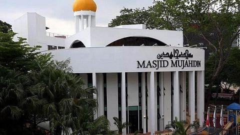 Persiapan rapi buka masjid