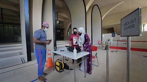 FASA PERTAMA SELEPAS PEMUTUS LITAR Langkah pencegahan, keselamatan diutama apabila masjid dibuka
