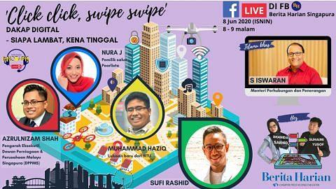 Bincang usaha dakap digital bersama Iswaran