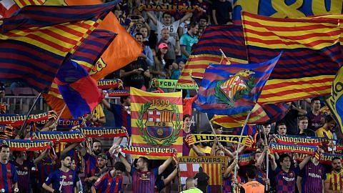 Penyokong maya iringi La Liga