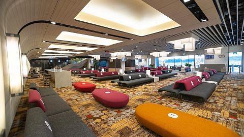 Lapangan terbang Changi sedia ruang transit baru