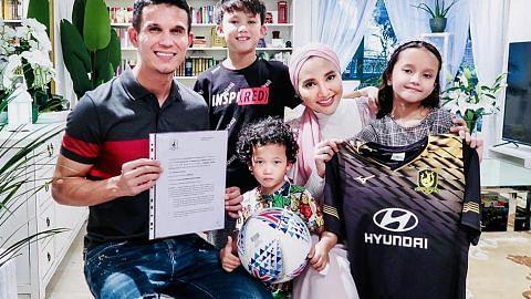 Baihakki tinggalkan liga Thai, sertai Tampines Rovers