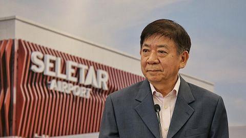 Projek T5 Changi dihentikan dua tahun