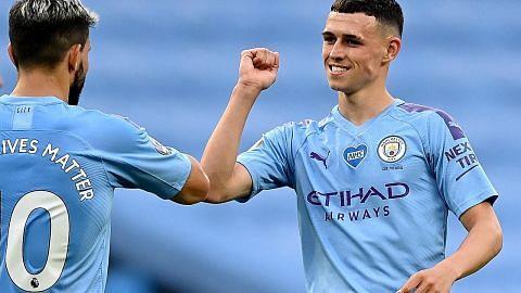 5 gol City, kain rentang baur perkauman malukan Burnley