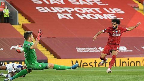 Liverpool belasah Palace, kini di ambang juara