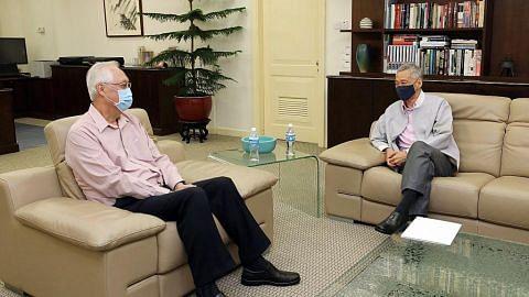 ESM Goh Chok Tong bersara daripada politik