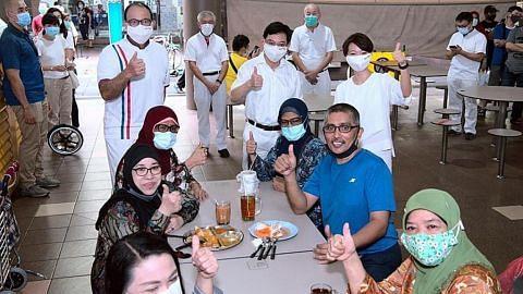 DPM Heng: Usaha bantu warga harungi tempoh sukar tidak akan terhenti