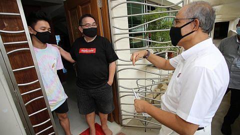 Masagos: Pasukan PAP di Tampines tidak lemah