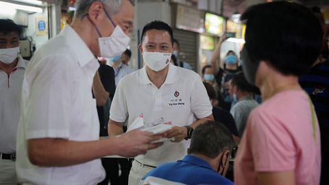 PM Lee beri sokongan kepada calon PAP di SMC Yio Chu Kang