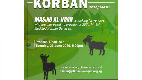 Masjid, badan Islam buat penyesuaian bagi ibadah korban