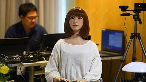 Robot AI Erica, Rashmi kuasai dunia hiburan