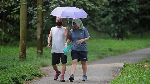 Mendung, hujan dijangka hingga hari ini
