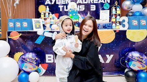 Bella Astillah tetap sambut hari lahir Ayden