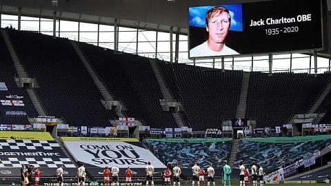 Dunia bola sepak beri penghormatan pada Jack Charlton