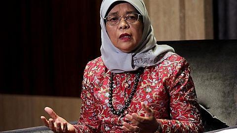 Presiden Halimah seru warga bersatu hadapi cabaran susuli pilihan raya