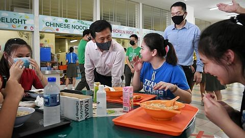Ye Kung: Bimbing generasi muda bincang mengenai kaum, agama