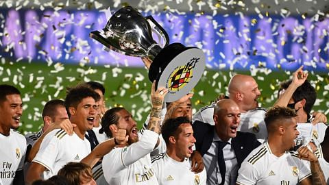 Real Madrid juara La Liga
