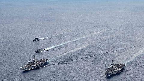 Laut China Selatan turut terbabit dalam sengketa AS-China