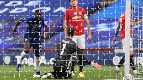 Kesilapan De Gea letak Chelsea di final Piala FA