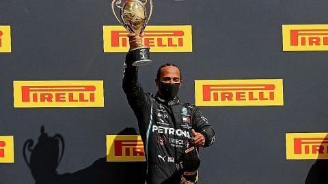Hamilton juara GP Britain walau tayar pancit