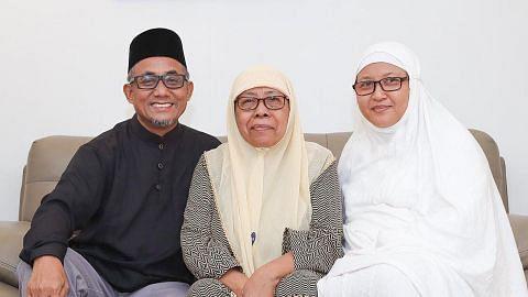 ULANG TAHUN KE-55 SINGAPURA Tenang meniti usia senja bila anak tokok akaun bersara