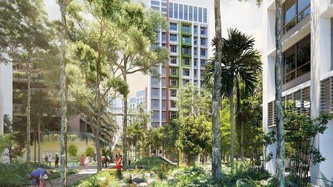 Penduduk Distrik Park berpeluang bina kehidupan dalam sekitaran hutan tropika, mesra alam
