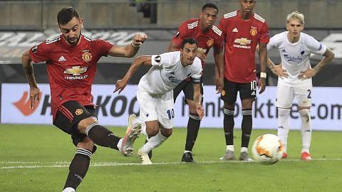 Gol Bruno Fernandes bantu United mara ke separuh akhir