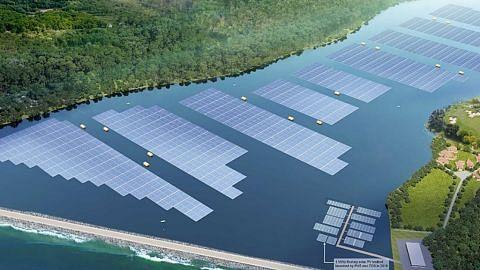 S'pura bangun ladang solar terbesar di dunia