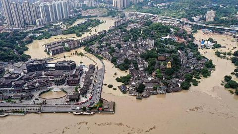 FOKUS ASIA Banjir China tinggalkan kesan dan persoalan