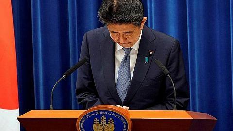 Dunia terkejut dengan keputusan PM Jepun mahu letak jawatan