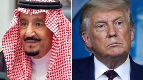 Raja Salman beritahu Trump Saudi mahu huraian adil, tetap bagi masalah Palestin