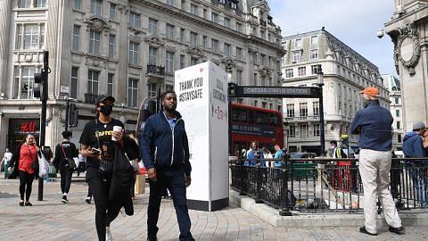 Kes naik: Britain akan laksana larangan himpunan sosial lebih 6 orang