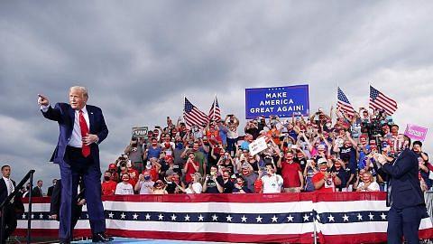 Trump: Satu 'hinaan' jika Harris jadi presiden wanita pertama