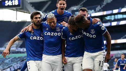Tandukan Calvert-Lewin bantu Everton atasi Spurs