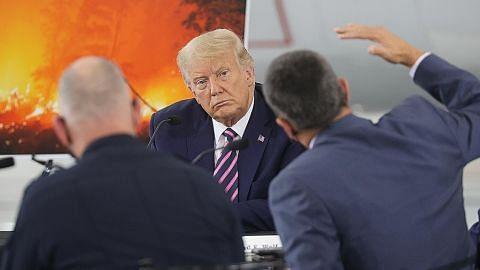 Trump tolak perubahan iklim penyebab kebakaran liar di California