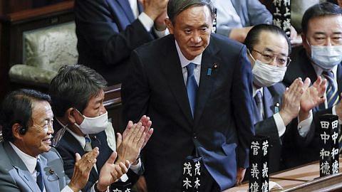 PM Lee ucap tahniah Suga rasmi PM baru Jepun