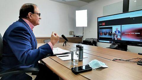 Iswaran: Perniagaan perlu giat usaha latih kakitangan dengan kemahiran teknologi