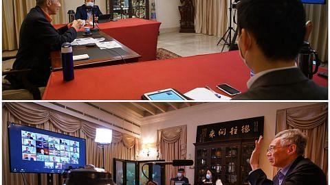 PM Lee berbincang dengan panel penasihat EDB, MAS