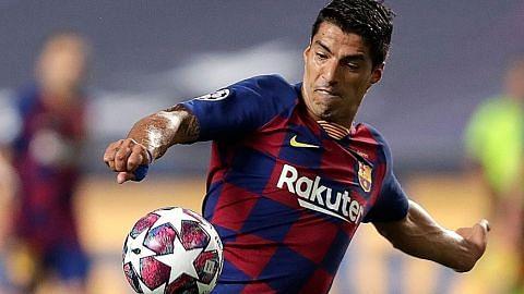 Nasib Suarez di Barca jadi tanda tanya
