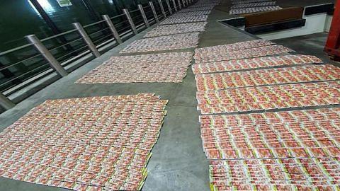 5 warga M'sia dijel seludup tembakau kunyah ke SG