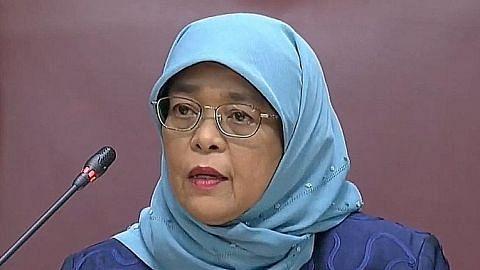 Presiden Halimah: GIC, Temasek ambil langkah lindungi diri dari Covid-19