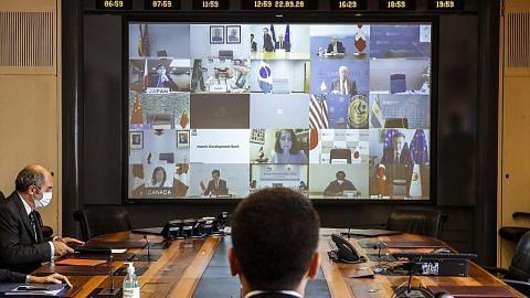Sidang puncak pemimpin G-20 di Riyadh beralih ke alam maya