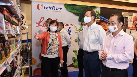 NTUC FairPrice peruntuk dana $2j sokong SME setempat