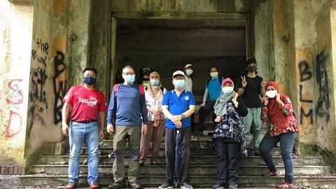 Teroka warisan bersejarah, menarik di Singapura