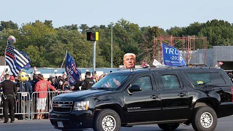 Trump dikecam keluar hospital temui penyokong