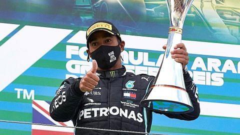 Hamilton samai rekod kemenangan Schumacher